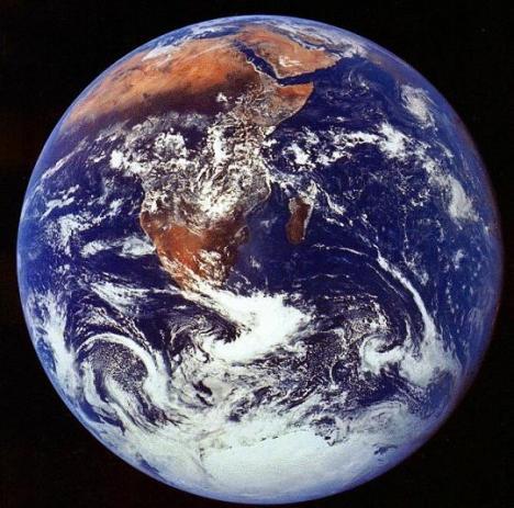 Земля крутится