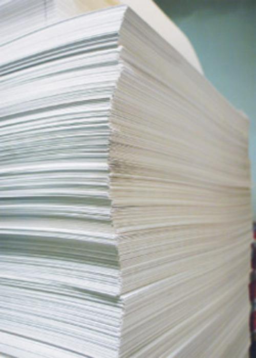 Как делается бумага?