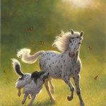 Наперегонки с лошадью.