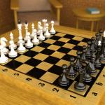 В шахматы – на уроке.