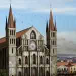 Чем отличается готическая архитектура от романской?