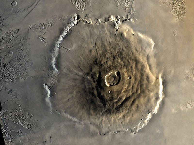 Гора Олимп в космосе