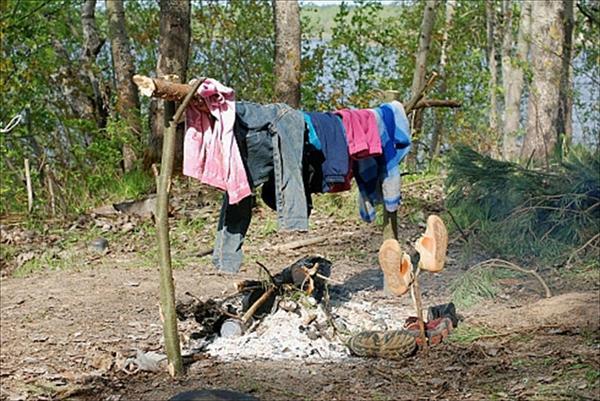 Как высыхает моя одежда?