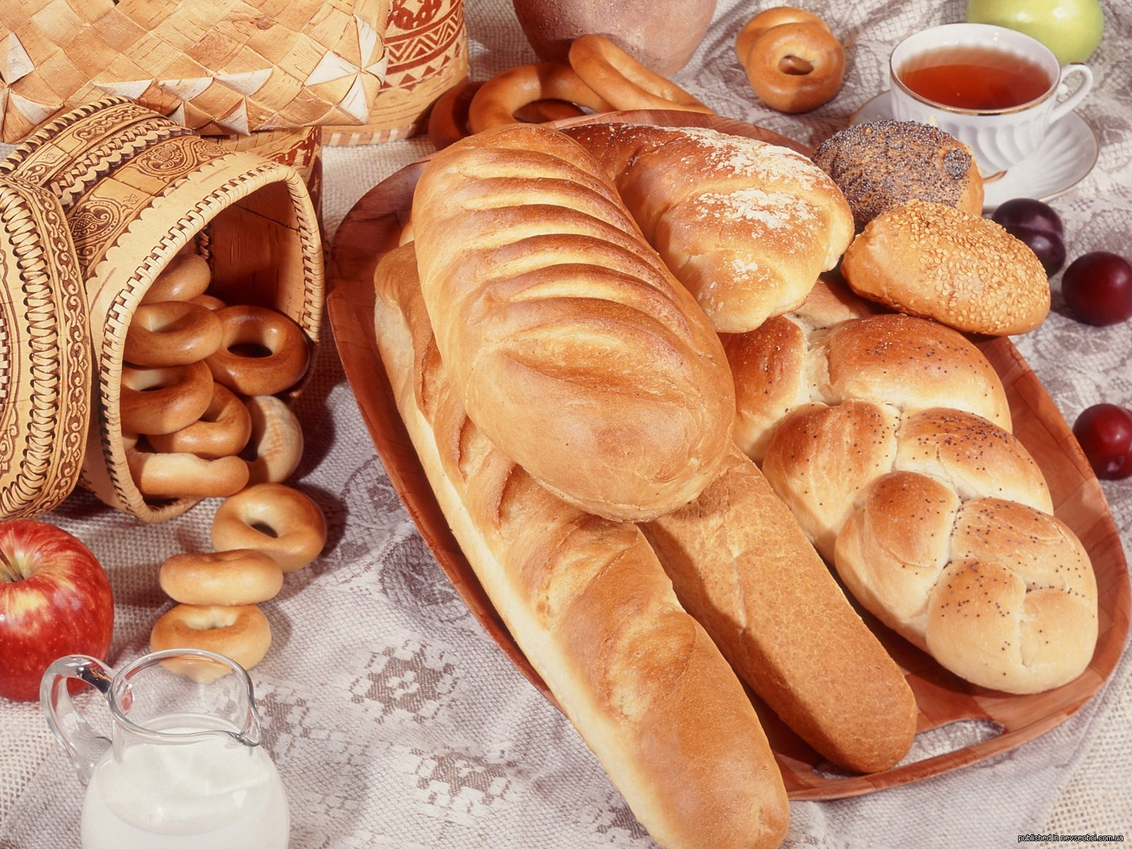 История хлеба. Кто придумал хлеб?