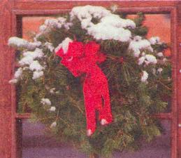 Настольные рождественские венки или подвесные