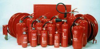 Огнетушители и другие средства тушения огня