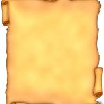 История пергамента. Свиток пергамента. Дверние пергаменты