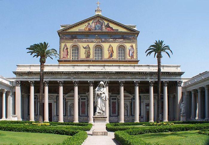 базилики Сан-Паоло фуори ле Мура