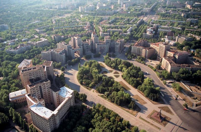 Харьков - площадь свободы фото