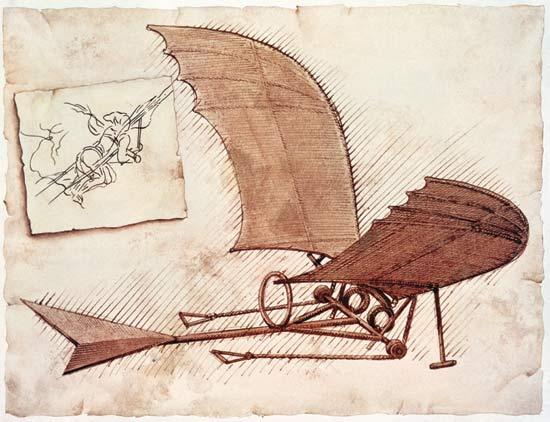 Крылья Леонардо да Винчи