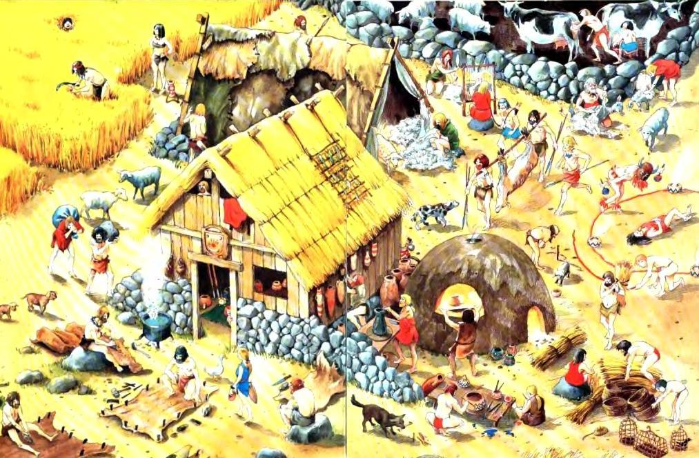 Доисторическое селение