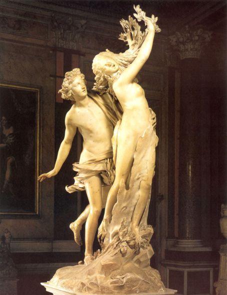 Лоренцо Бернини. Аполлон и Дафна