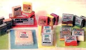 Виды полимерной глины