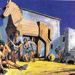 Как греки проникли за стены Трои?