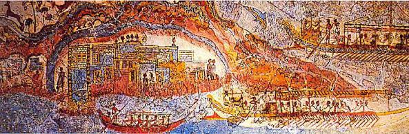 Фреска из Акротиры