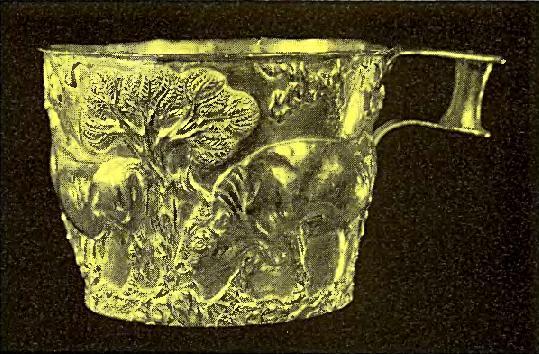 Золотой кубок из Лаконики
