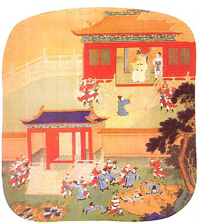 Шихуанди и Конфуций