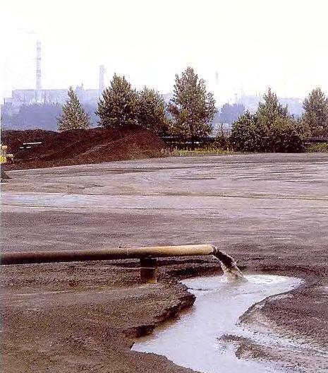 Сточные воды в водоёмы