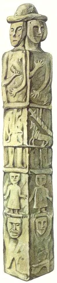 Каменный идол язычников
