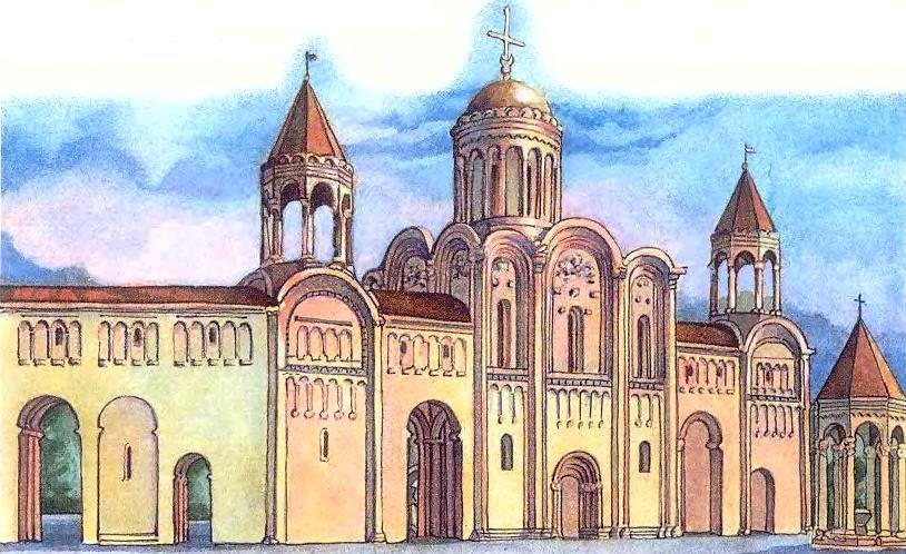 Дворец и храм в Боголюбове