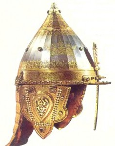 Так называемый Шлем Александра Невского был изготовлен в 1621 году для царя Михаила Романова
