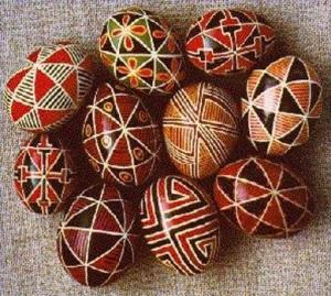 Пасхальные яйца фото