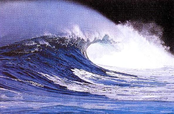 Мощная волна