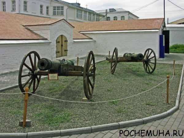 Артиллерийский двор в Астрахани