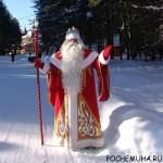На какое время приглашать Деда Мороза?