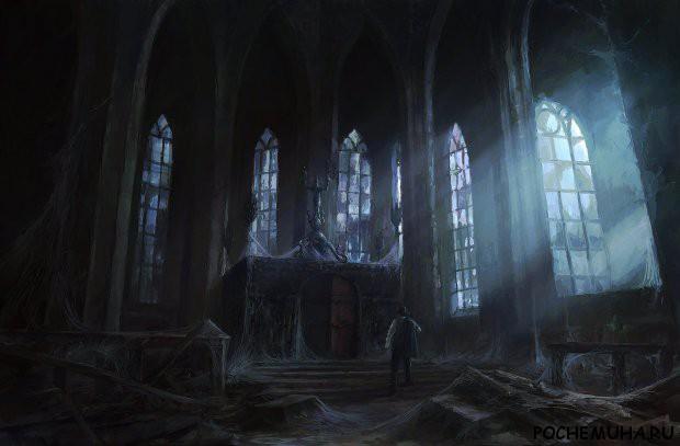 Заброшенный храм-город