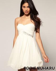 С чем и как носить короткие платья 1