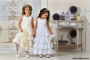 Как выбрать платье для девочки к торжеству