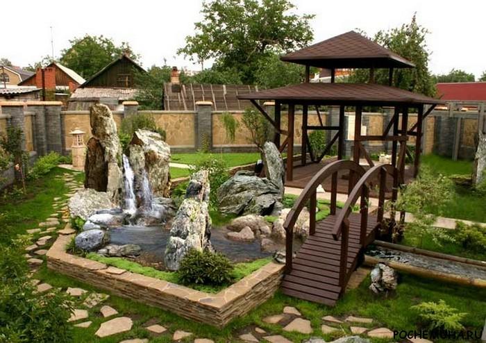 Фото дизайна участка загородного дома