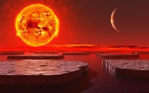 Радиация и теплота планеты