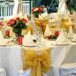 Как оформить свадебный банкет?