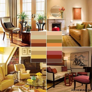 Цветовая палитра вашего дома