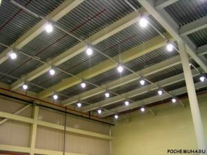 наружных и внутренних светодиодных светильников