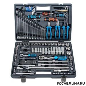 Универсальные наборы инструментов для автомобиля