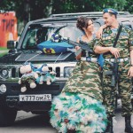 Свадьба в стиле «Милитари»