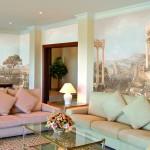 Как выбрать фреску для интерьера гостиной
