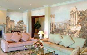 Как выбрать фреску для гостиной