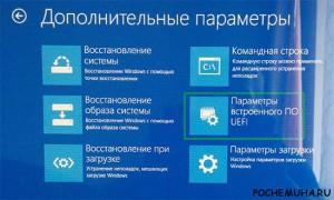 Как открыть БИОС при установленной Windows 8/8.1