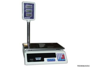 Как выбрать электронные весы для торговли