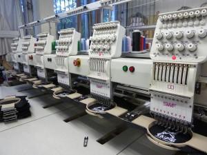 Преимущества машинной вышивки