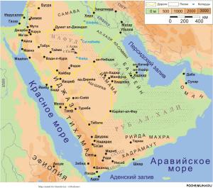 История Древней Аравии
