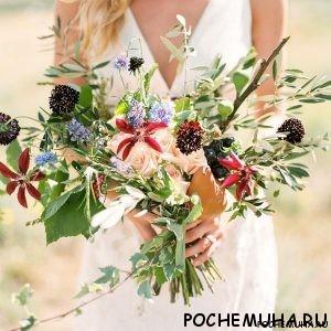 Как выбрать идеальный свадебный букет