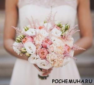 Как выбрать идеальный свадебный букет1