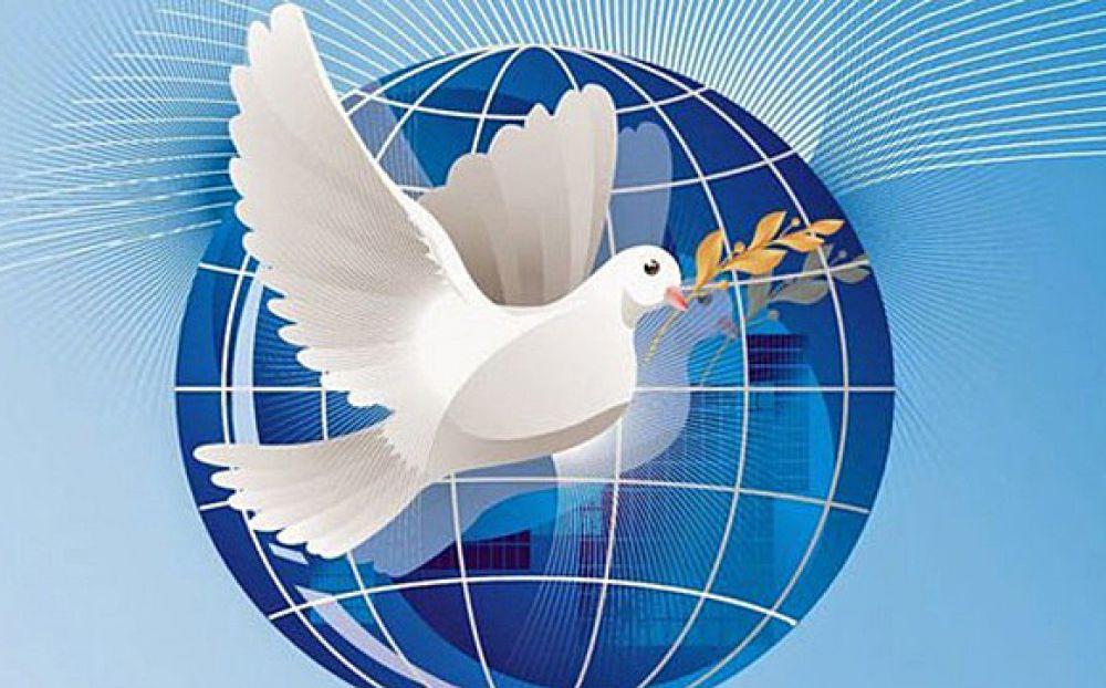 эмблема мира голубь картинки